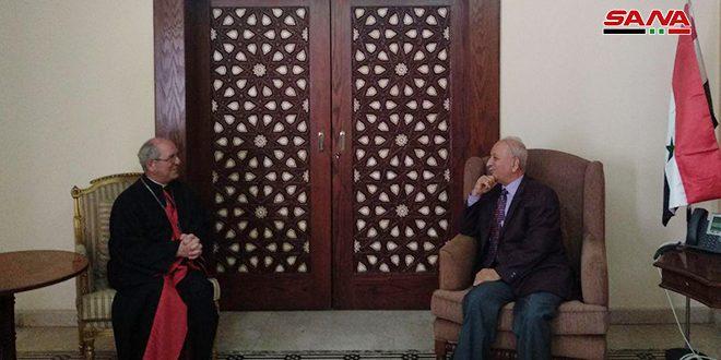 L'évêque d'Alexandrie des Arméniens catholiques : La Syrie était est restera la terre de la paix