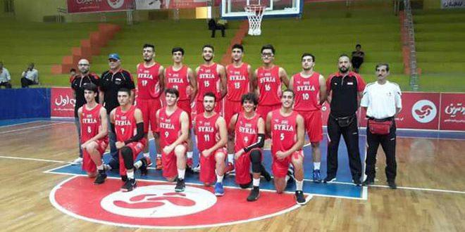 La sélection syrienne prend le dessus sur son adversaire qatarie au tournoi amical d'Iran de Basketball