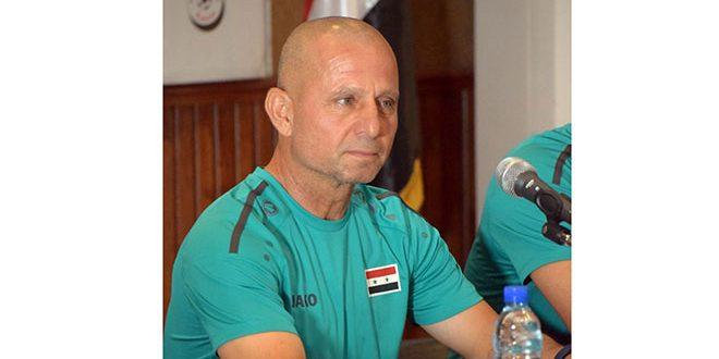 Ibrahim: La sélection syrienne de football sera forte aux éliminatoires des deux coupes d'Asie et du monde