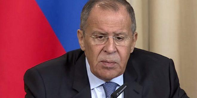 Lavrov: La libération par l'armée syrienne de son territoire du terrorisme avec le soutien de la Russie ne constitue pas une violation des ententes