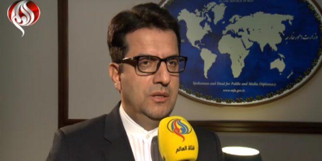 L'Iran réitère son appel au retrait des forces étrangères se trouvant en Syrie sans l'admission du gouvernement syrien