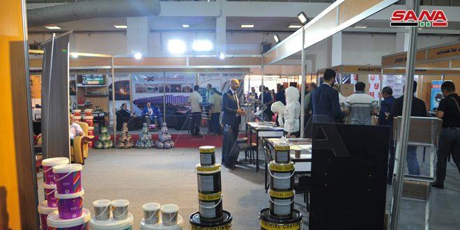 Avec la participation d'environ 390 sociétés arabes et étrangères, coup d'envoi du salon de la reconstruction de Syrie