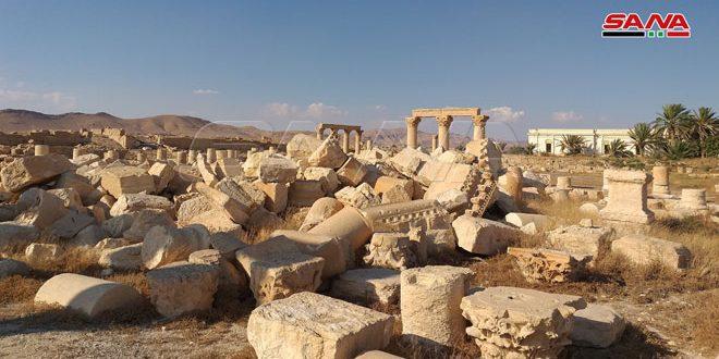 Restauration du temple archéologique de Baalshamin à Palmyra début novembre prochain