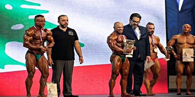 La Syrie a remporté 13 médailles aux compétitions de la coupe de diamant de bodybuilding au Liban