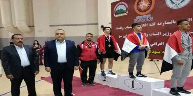 Dix médailles pour la Syrie au championnat arabe de lutte