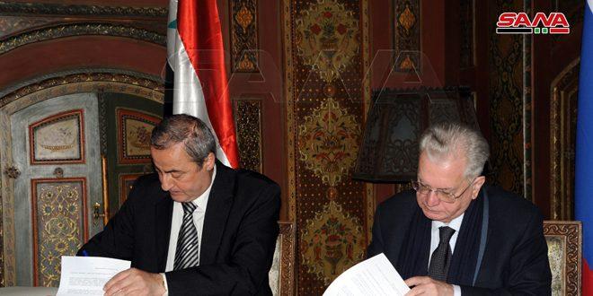 La Direction générale des Antiquités signe deux accords de coopération avec le musée de l'Ermitage et l'Académie scientifique russe