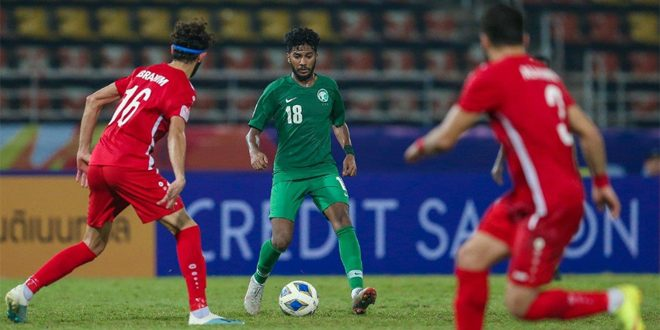 La sélection olympique syrienne de football se qualifie pour les quarts de finale de la Coupe d'Asie