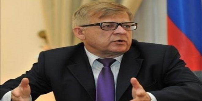 Zasypkin: La Syrie et ses alliés poursuivront leur lutte contre le terrorisme