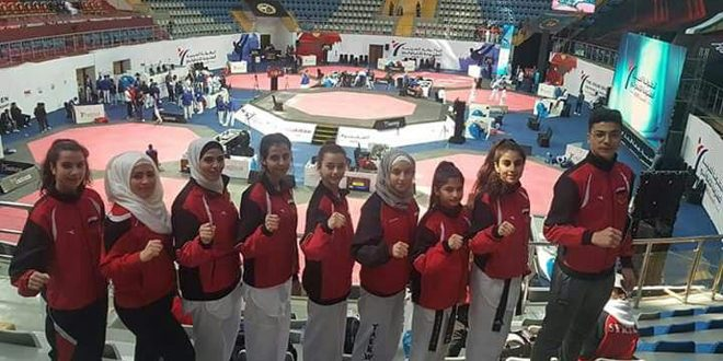 Neuf médailles à la sélection syrienne de taekwondo au championnat arabe