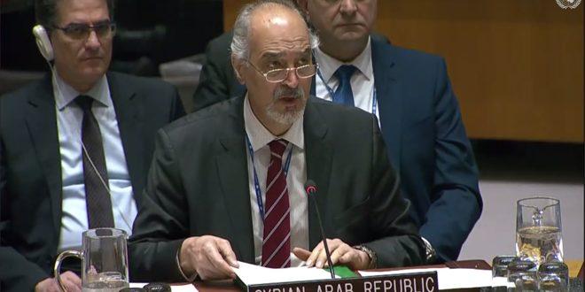 Jaafari : La Syrie réclame de freiner le comportement agressif du régime turc