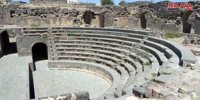 Les théâtres archéologiques de Soueidaa représentent un exemple architectural unique