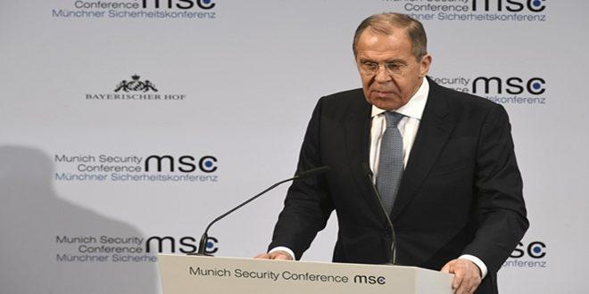 Lavrov : Nécessité d'éliminer les réseaux terroristes à Idleb