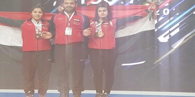 Neuf médailles pour la Syrie au championnat d'Asie d'haltérophilie