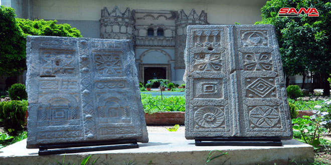 Le musée national à Damas inclut des pièces archéologiques remontant à des milliers d'années
