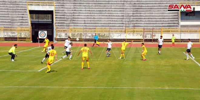 L'équipe Tichrine conserve sa place à la tête de la 1ère Ligue syrienne de football