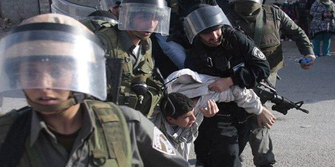 Le comité des affaires des détenus: L'occupant israélien a arrêté plus de 90 enfants depuis la propagation de coronavirus