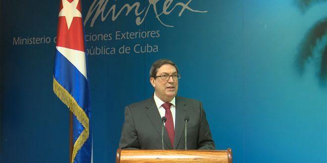 Cuba condamne vivement les mesures coercitives américaines visant la Syrie