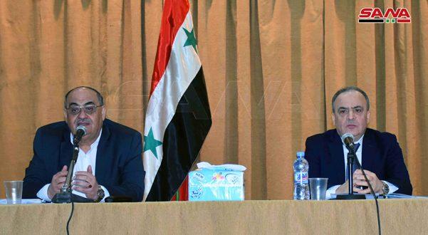 Khamis lance le projet de la stratégie nationale pour le développement agricole en Syrie