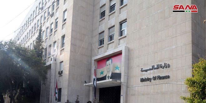 Communiqué de presse du ministère des Finances sur la décision du Conseil des ministères sur l'échange de 100 dollars par les Syriens venant de l'étranger