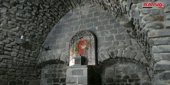 La salle antique de la cathédrale de 40 martyrs à Homs est un site archéologique unique