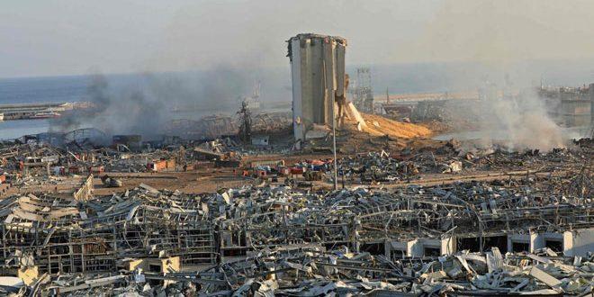 L'ambassade de Syrie au Liban: 43 martyrs syriens dans l'explosion du port de Beyrouth jusqu'à présent