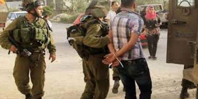 Les forces d'occupation arrêtent quatre Palestiniens dans des zones séparées en Cisjordanie