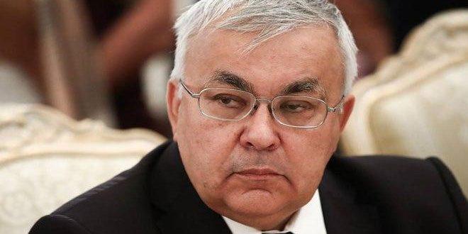 La Russie affirme son rejet des tentatives de Washington de soumettre un projet de résolution à l'ONU contre la Syrie
