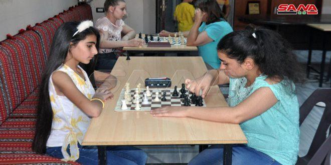 Clôture du championnat de Soueidaa de l'échecs pour les femmes