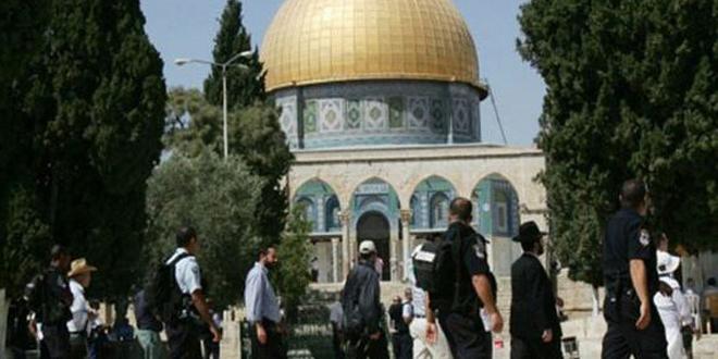 Des colons israéliens prennent d'assaut la mosquée d'al-Aqsa sous la protection des forces d'occupation