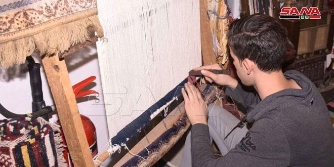 Ouverture du salon d'artisanat « Pouls d'Alep »