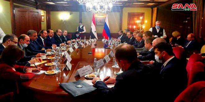 Entretiens de coopération économique et financière avec la Russie