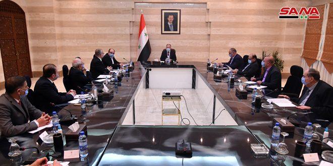 Arnous aborde avec une délégation de la Chambre de Commerce syro-iranienne le renforcement des relations économiques bilatérales
