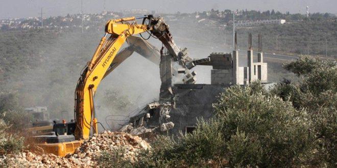 Rejet palestinien du plan de l'occupation israélienne d'établir /2600/ nouveaux logements coloniaux