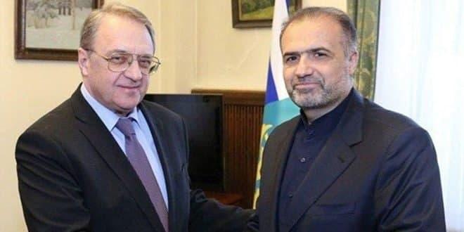 Bogdanov examine avec Jalali la situation en Syrie et en Irak