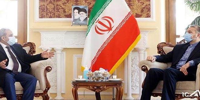 Entretiens syro-iraniens sur le développement de la coopération dans les domaines scientifique et de la recherche