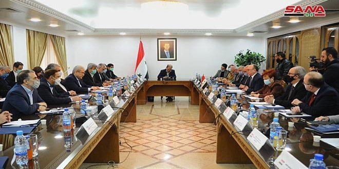 Entretiens syro-iraniens sur la coopération bilatérale dans le domaine des technologies