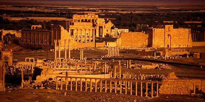La fête annuelle à Palmyre