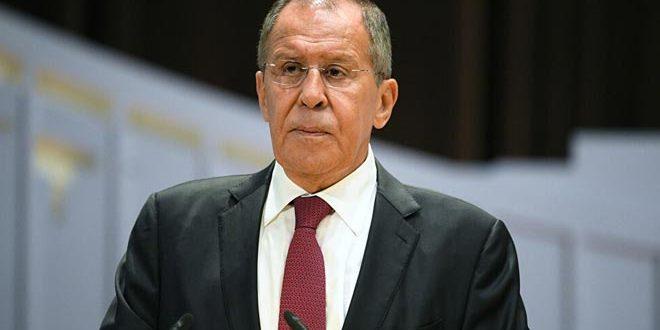 Lavrov examine, par téléphone, avec le président du Comité international de la Croix-Rouge, des questions régionales et internationales
