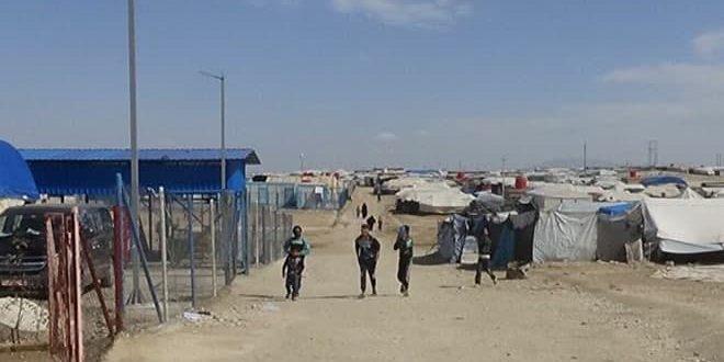 La Russie appelle à sauver des milliers d'enfants dans le camp de Hol contrôlé par la milice des «FDS» et les forces d'occupation américaine dans la banlieue de Hassaké