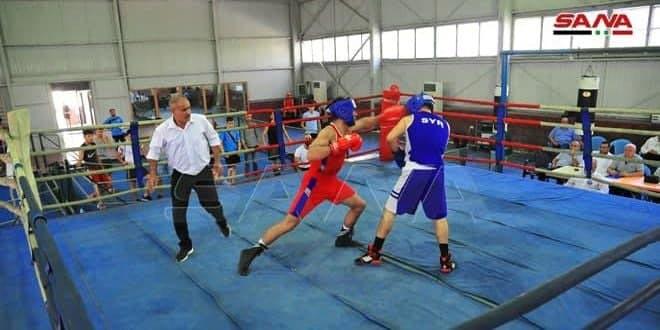 La sélection syrienne de boxe se prépare à participer au championnat asiatique « séniors » prévu à Dubaï