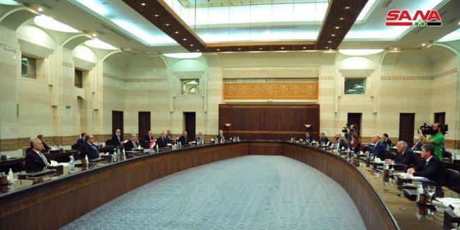 Le comité mixte syro-abkhaze tient sa 1ère session à Damas