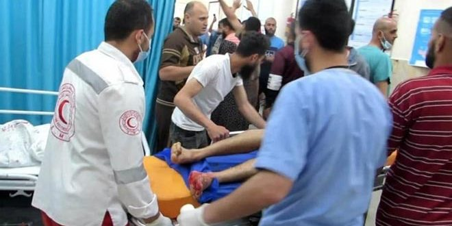 85 Palestiniens tombent en martyr par l'agression israélienne sur la bande de Gaza