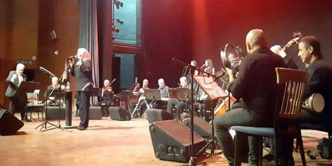 Fairuz chante Damas: Concert du groupe des musiciens damascène Takht Charqi