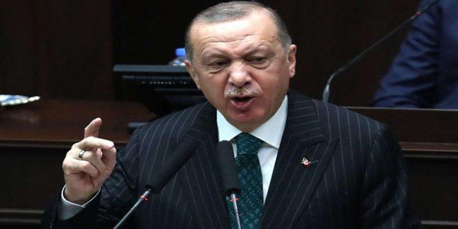 Un lapsus de langue dit par Erdogan révèle son rôle destructif en Syrie et son soutien aux réseaux terroristes