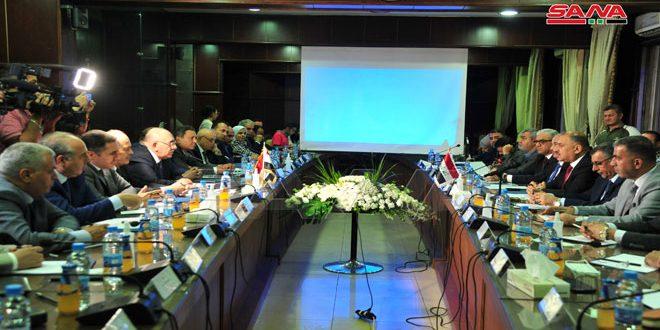 Le ministre de l'Industrie et son homologue irakien examinent l'instauration de partenariats et d'intégration industrielle entre la Syrie et l'Irak