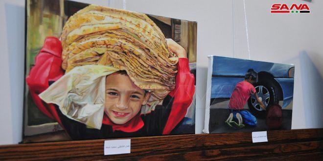 L'impact du travail des enfants dans une exposition d'art plastique au Musée national de Damas