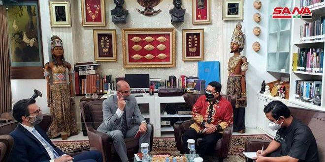 Entretiens syro-indonésiens sur le renforcement de la coopération parlementaire