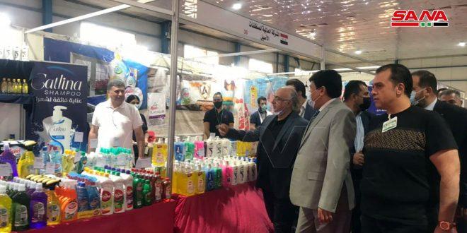 Lancement des activités de l'exposition «Fabriqué en Syrie» à Bagdad