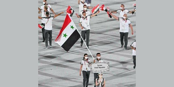 Avec la participation de la Syrie, coup d'envoi des Jeux Olympiques de Tokyo 2021