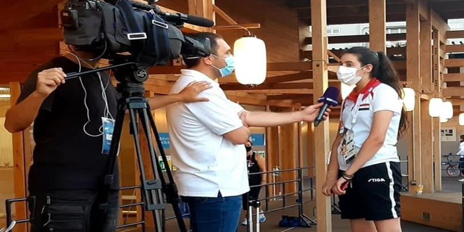 Bien qu'elle en soit éliminée, Hind Zaza attire l'attention aux Jeux olympiques de Tokyo